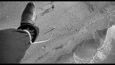 A still image from Fellini's 8 1/2.