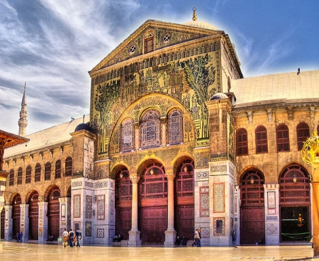 The Great Mosque of Damascus.