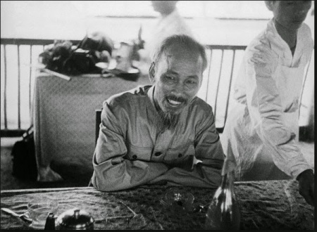 Ho Chi Minh in 1954.