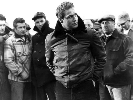 A still image from On the Waterfront.
