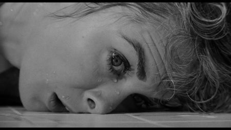 Janet Leigh in Psycho.