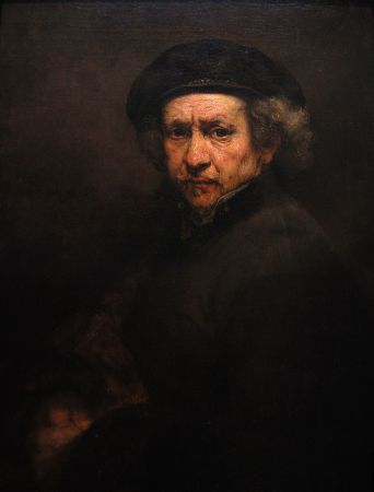 Rembrandt's 1659 Self-Portrait.