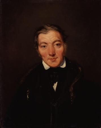 A portrait of Robert Owen by William Henry Brooke.