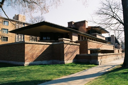 The Robie House.