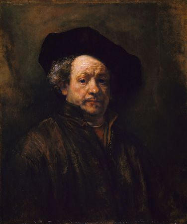 A 1660 Self-Portrait by Rembrandt.