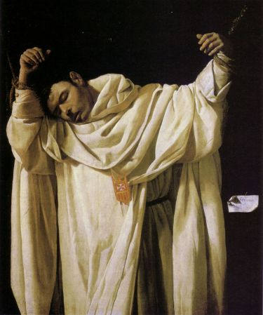 The Martyrdom of Saint Serapion is in the Wadsworth Atheneum in Hartford, Connecticut.