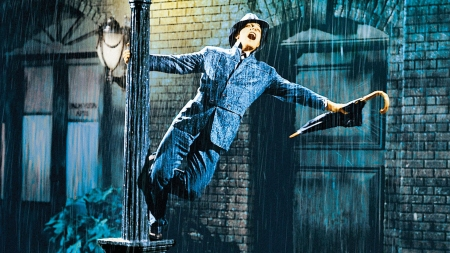 Gene Kelly in Singin' in the Rain.