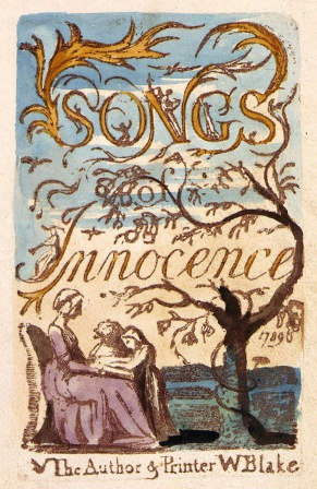 The cover of Blake's Songs of Innocence.