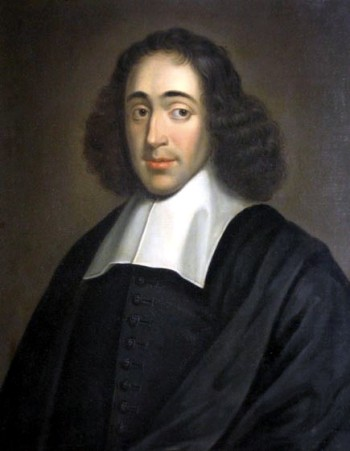 A 1665 portrait of Baruch Spinoza.