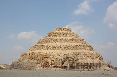The Step Pyramid of Djoser.