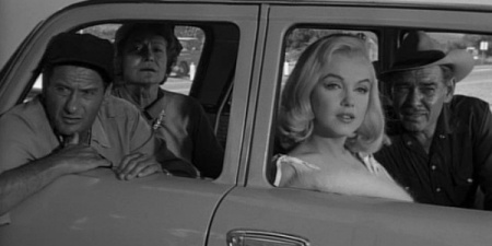 A still image from The Misfits.
