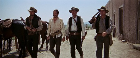 A still image from The Wild Bunch.