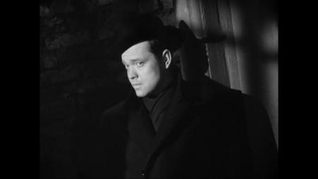 A still image from The Third Man.