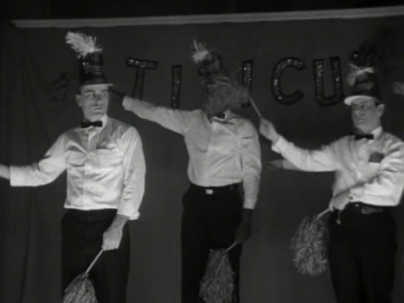 A still image from Frederick Wiseman's documentary Titicut Follies.