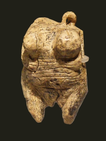 The Venus of Hohle Fels is the earliest known representation of a human being.