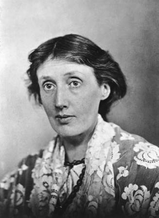 A 1925 photograph of Virginia Woolf.
