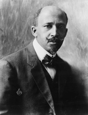 A 1918 photograph of W.E.B. Du Bois.