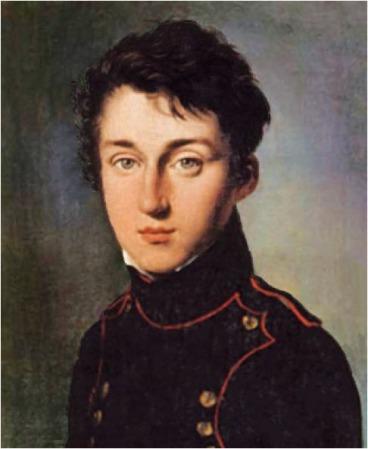 An 1813 portrait of Nicolas Léonard Sadi Carnot by Louis-Léopold Boilly.