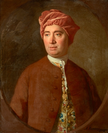 A portrait of David Hume by Allan Ramsay.