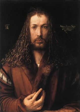 A Self-Portrait by Albrecht Dürer.