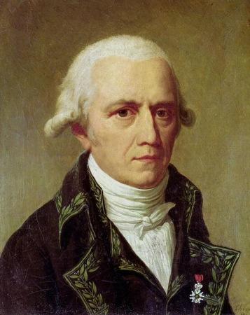 An 1802 portrait of Jean-Baptiste Lamarck by Charles Thévenin.