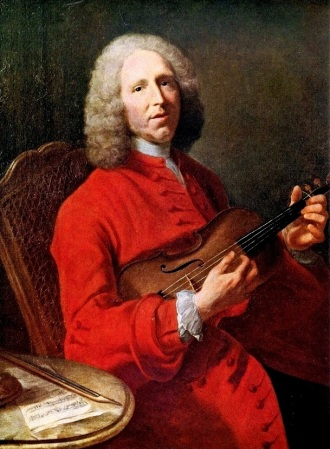 A 1728 portrait of Jean-Philippe Rameau, by Jacques Aved.
