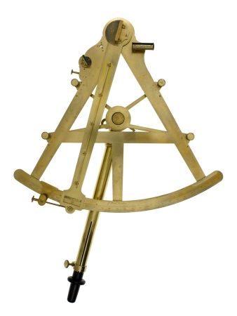 A sextant made by John Bird c. 1758.