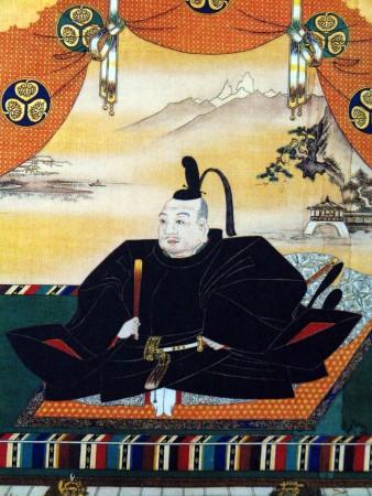 A portrait of Tokugawa Ieyasu.