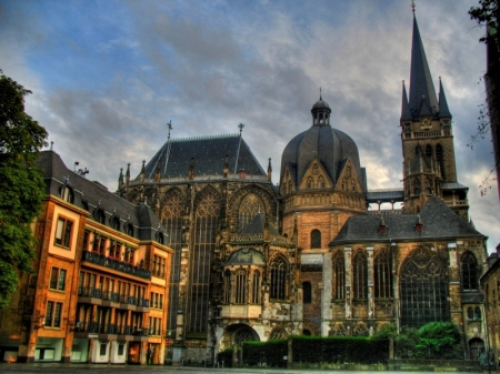 Aachen Cathedral, in Aachen, Germany.