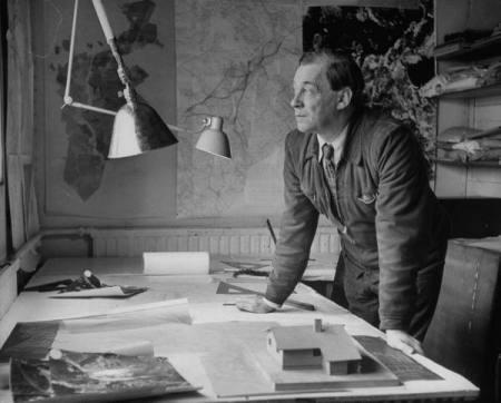 A 1948 photograph of Alvar Aalto.