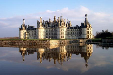Château de Chambord, in Chambord, France.