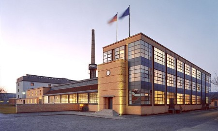 Fagus Factory, by Walter Gropius and Adoph Meyer, in An der Leine, Germany.
