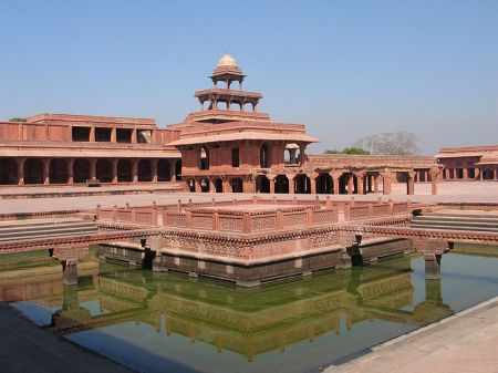 A view of Fatehpur Sikri.