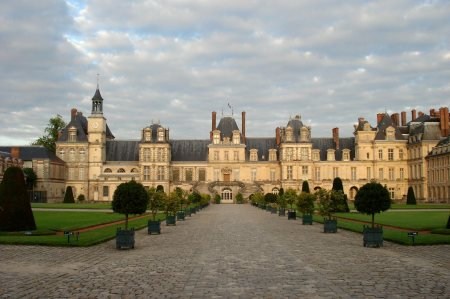 Château de Fontainebleau, in Fontainebleau, France.
