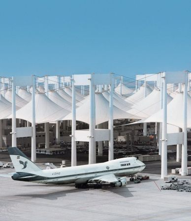 Hajj Terminal, King Abdulaziz International Airport, Jeddah, Saudi Arabia.