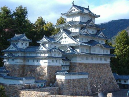 Himeji Castle in XXX, Japan.