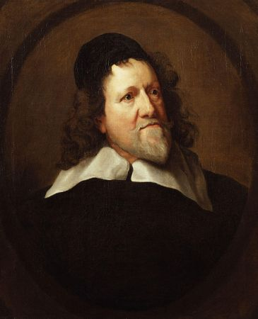 A portrait of Inigo Jones by Sir Anthony van Dyck from 1636-1641.