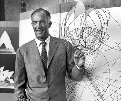Jorn Utzon in an undated photo.