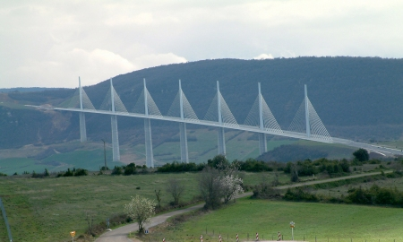 Millau Viaduct in Millau, France.