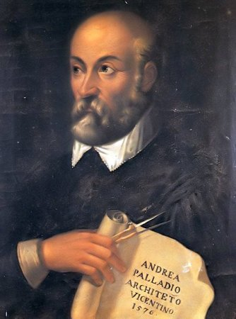 A 1576 portrait of Andrea Palladio.