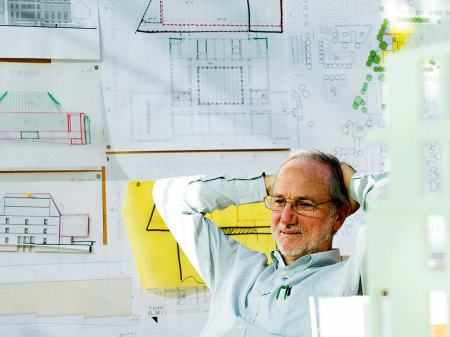 An undated (possibly 2015) photograph of Renzo Piano.