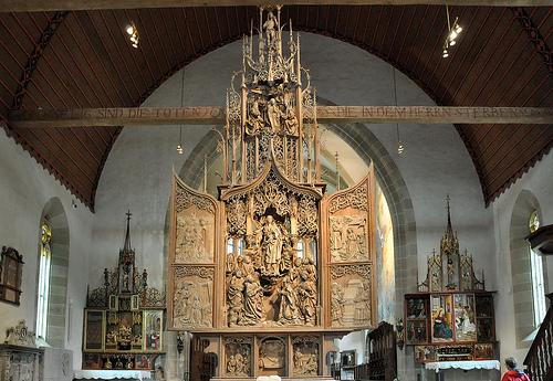 riemenschneider creglinge altarpiece
