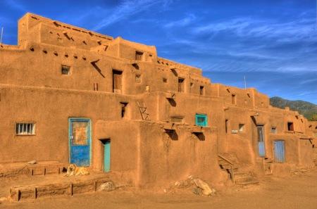 Taos Pueblo, Taos, New Mexico.