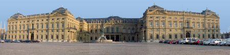 The Würzburg Residenz, by Balthasar Neumann, in Würzburg, Germany.