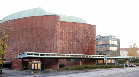 House of Culture. Alvar Aalto. Helsinki, Finland.