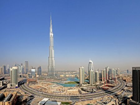 Burj Khalifa. Architect: X. Location: Dubai, United Arab Emirates.