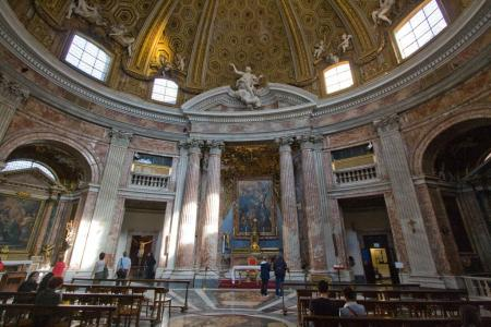 Church of Sant'andrea al Quirinale.