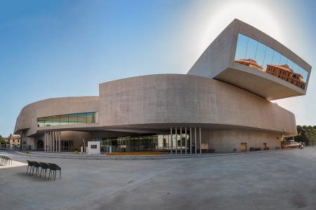 MAXXI - 21st Century Arts, designed by Zaha Hadid.