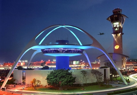 Terminal 1, Los Angeles International Airport. Architect: Norma Merrick Sklarek. Location: Los Angeles, California.
