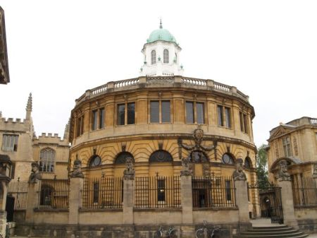 Sheldonian Hall. Christopher Wren. Oxford, UK.